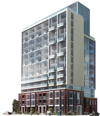 cad generated condominium development