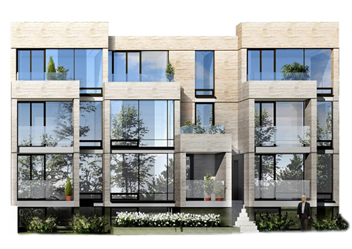 stacked townhouse project